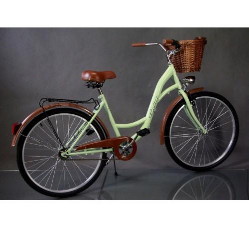 """Велосипед міський Goetz 28"""" Eco + кошик +фари"""